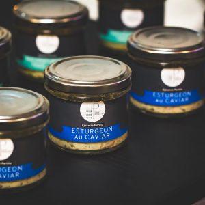 Tartinable d'Esturgeon Au Caviar