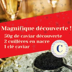 Offre Caviar Saint-Valentin 2021